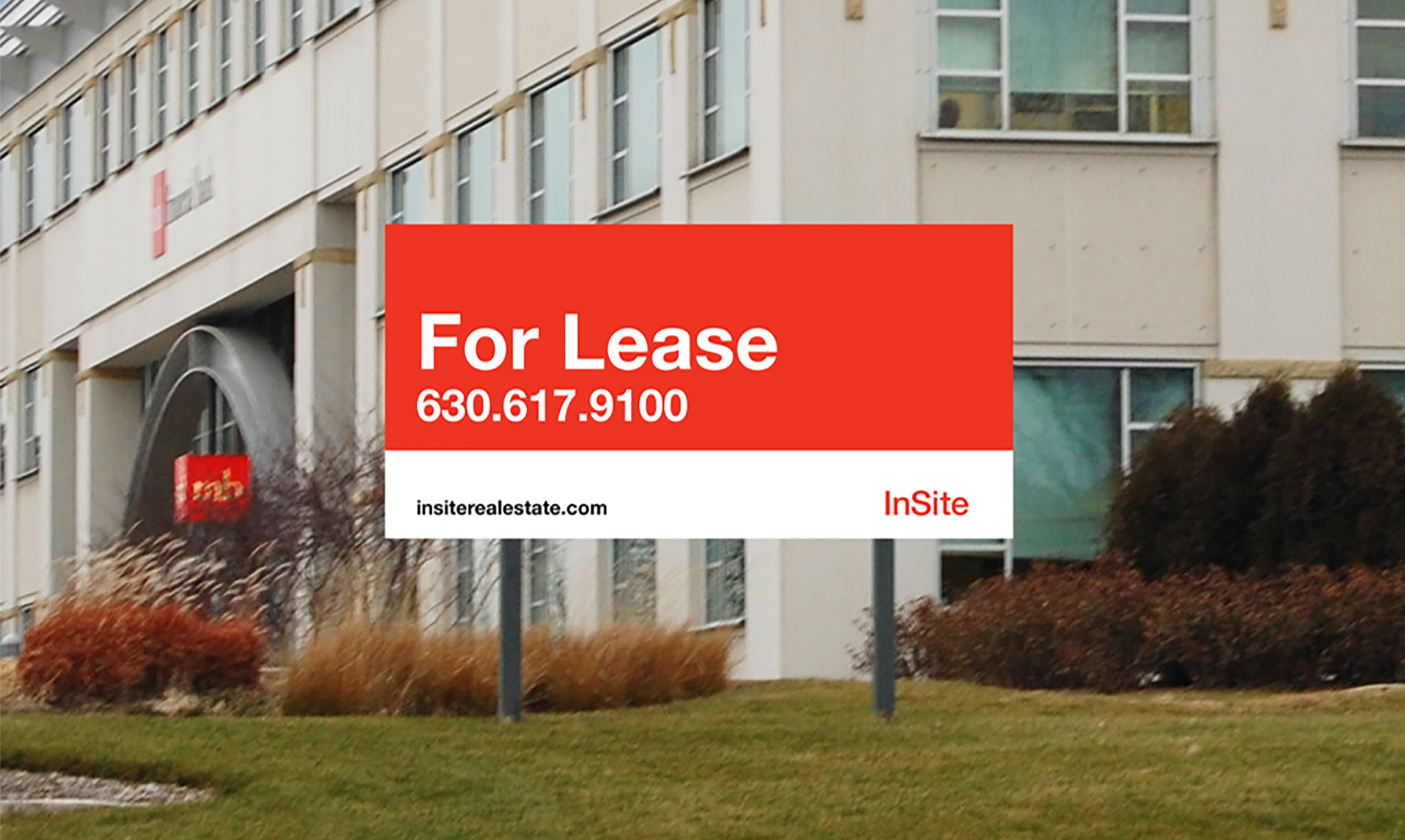 InSite Real Estate Leasing Sign