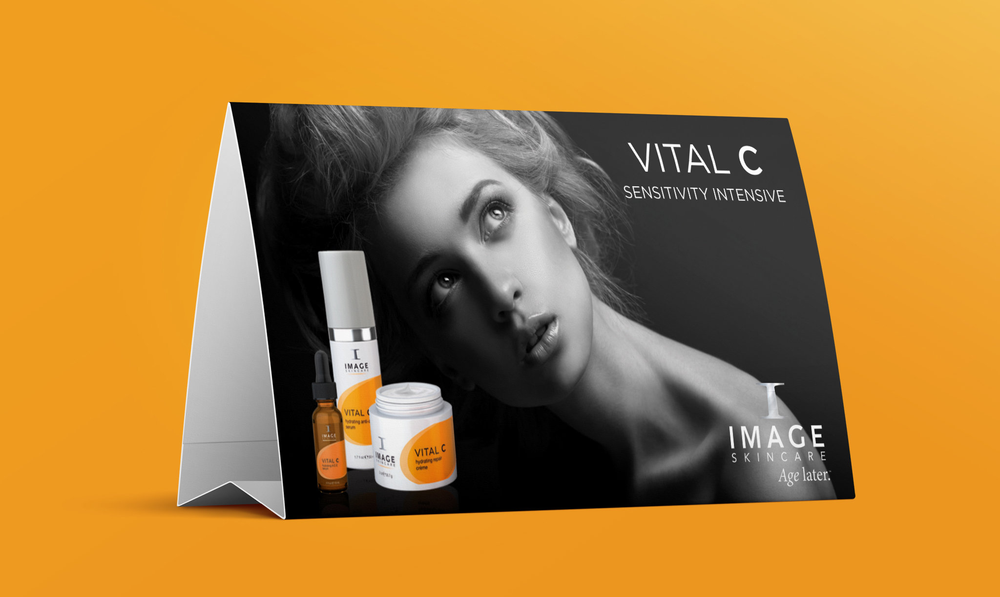Image Skincare Table Tent