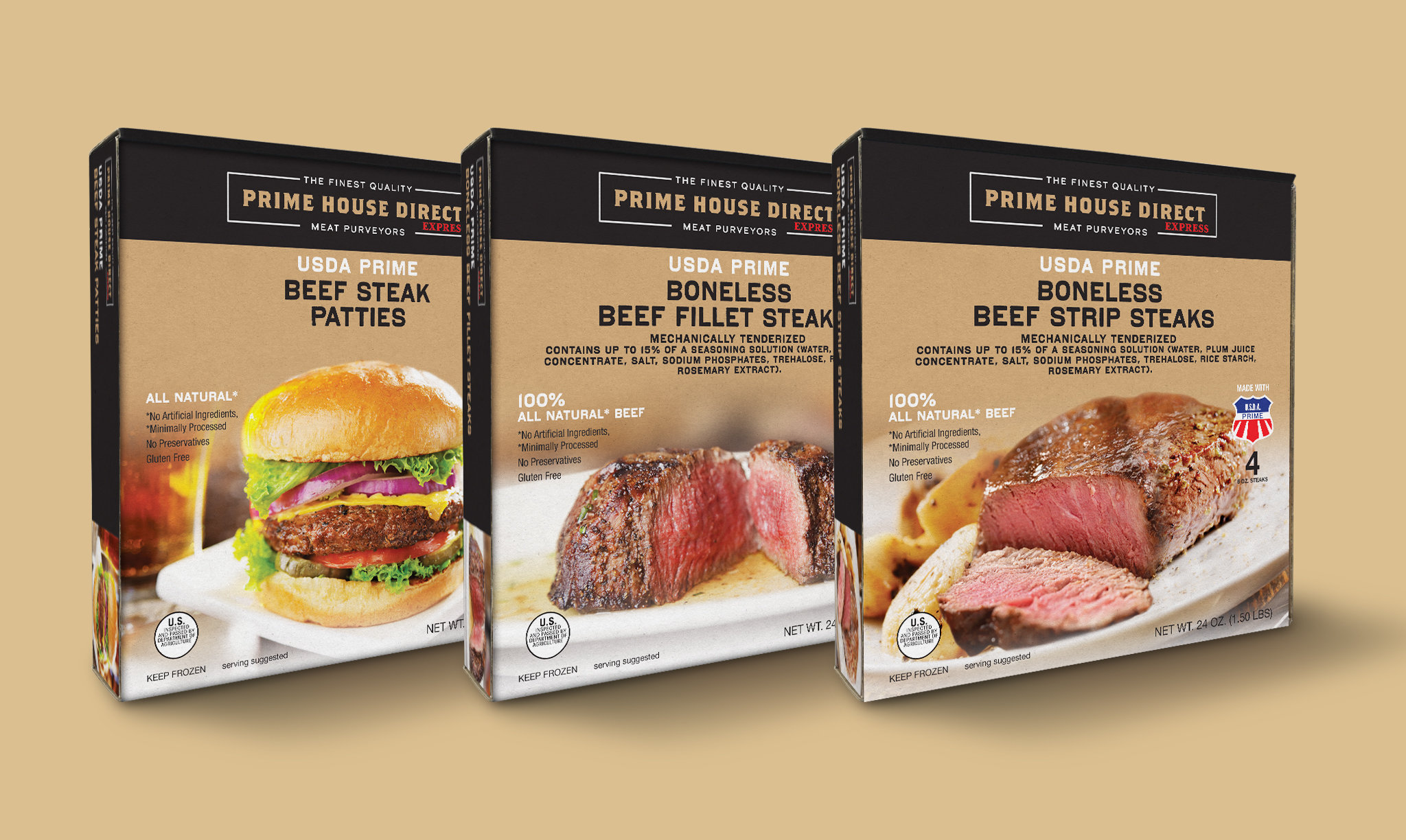 Prime House Direct Express Retail Product Packaging