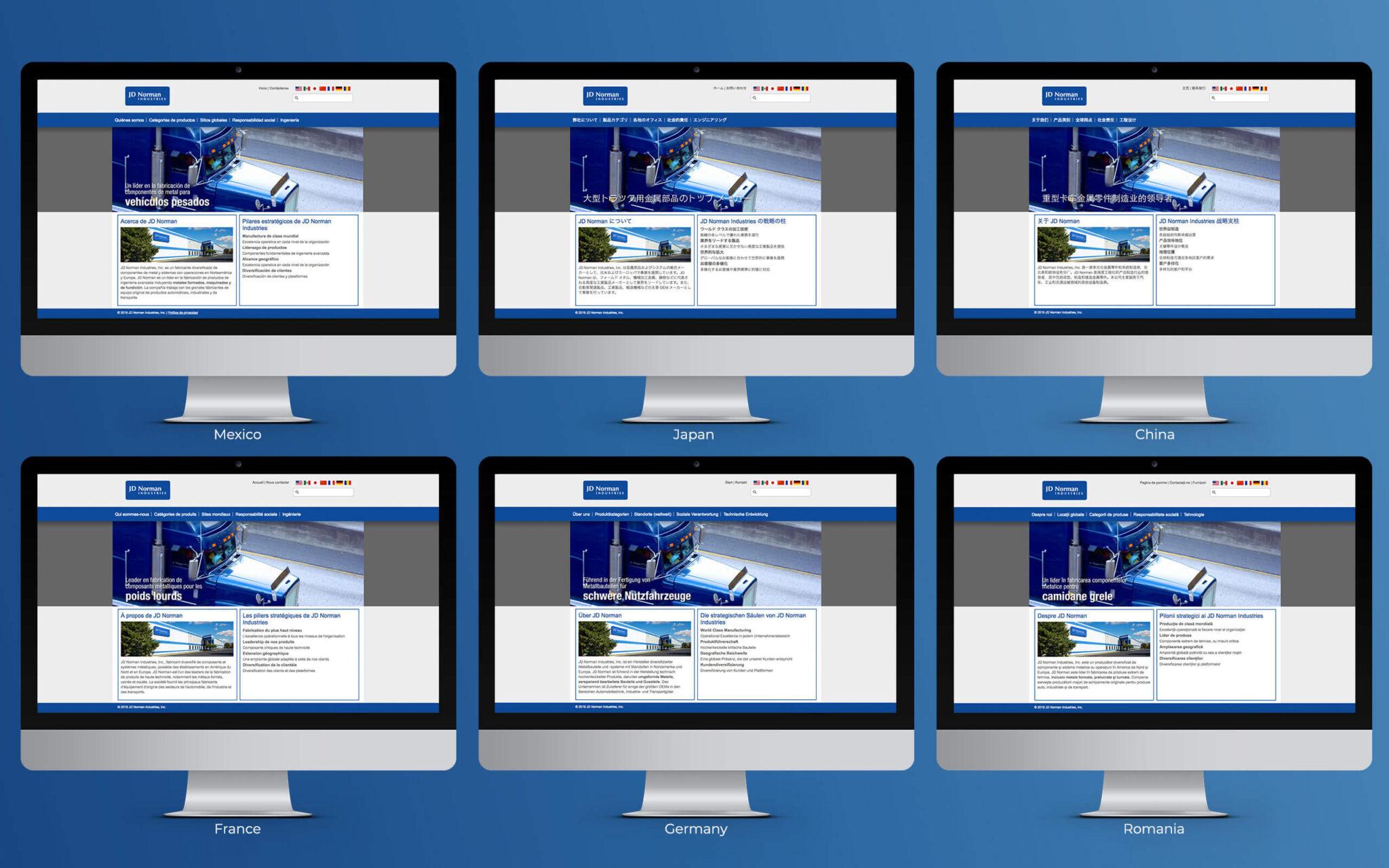 JD Norman Website International Translations