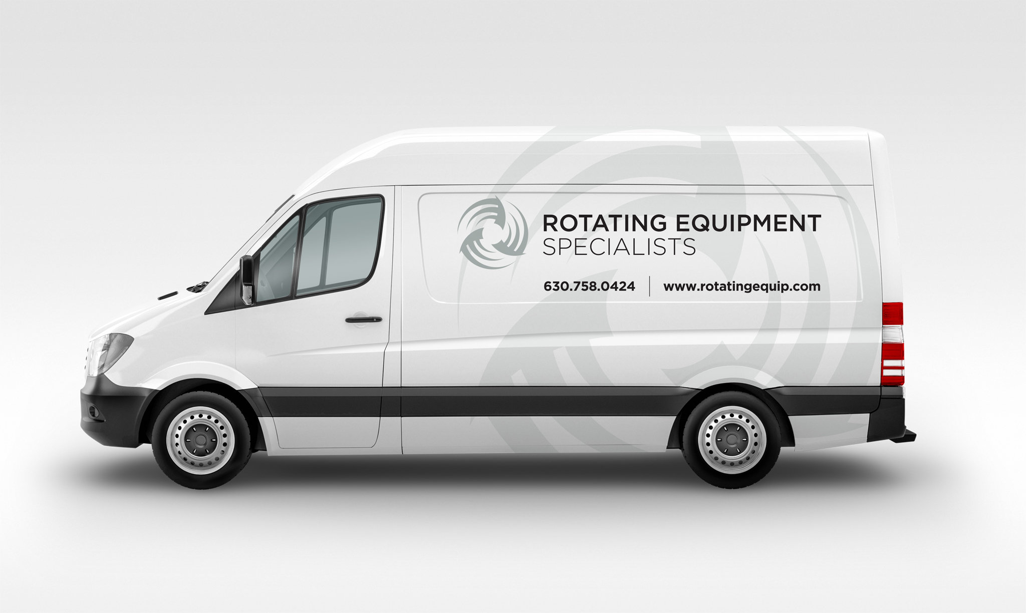Rotating Equipment Specialists Vehicle Wrap