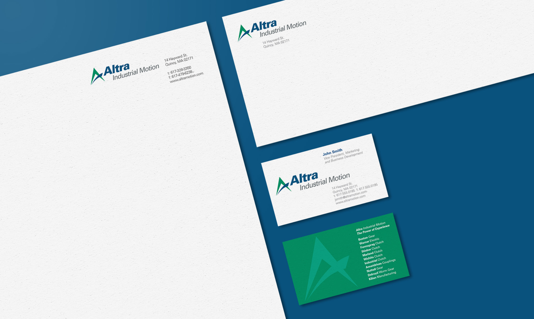 Altra Letterhead and Business Cards