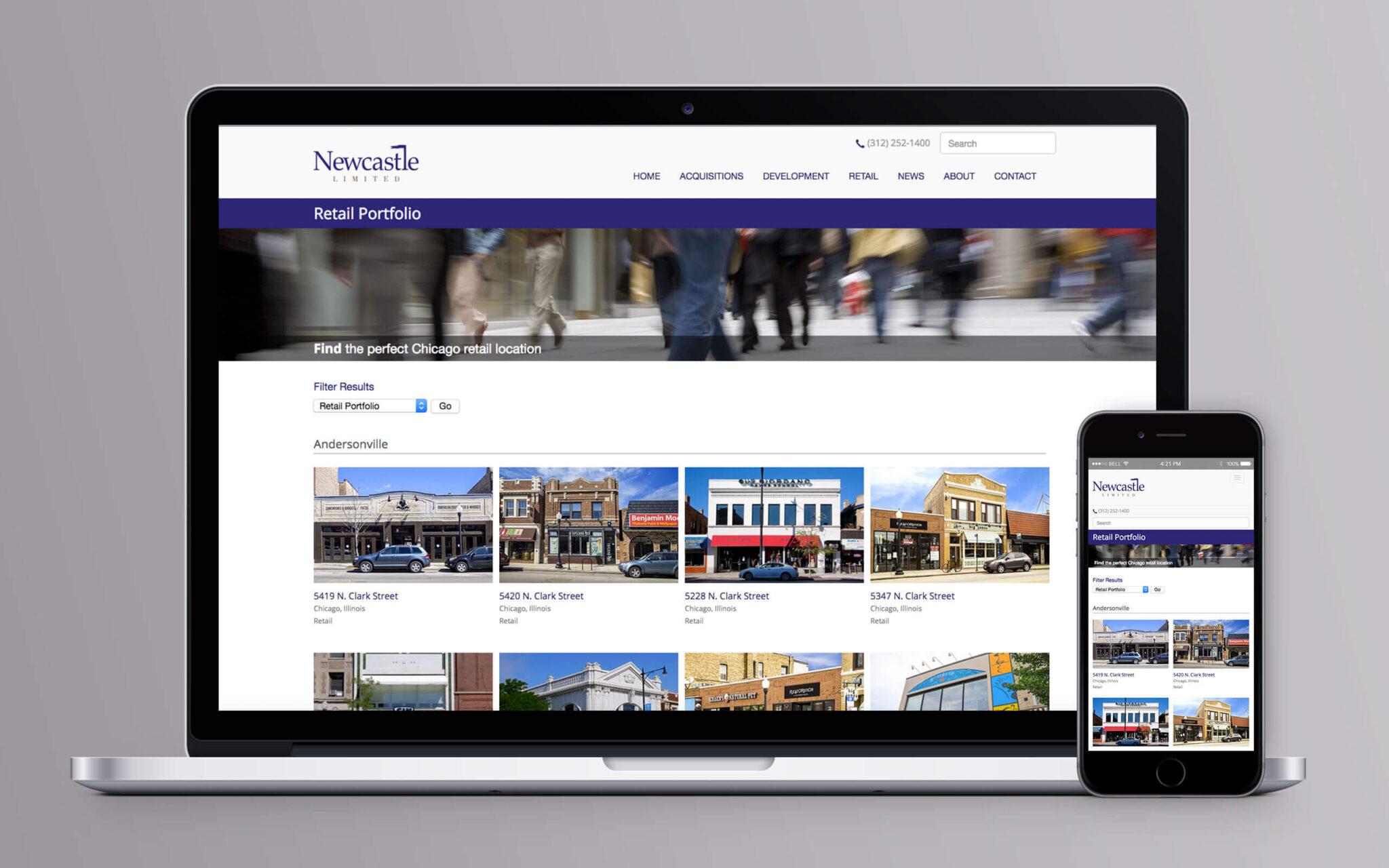 Newcastle Limited Website Retail Portfolio
