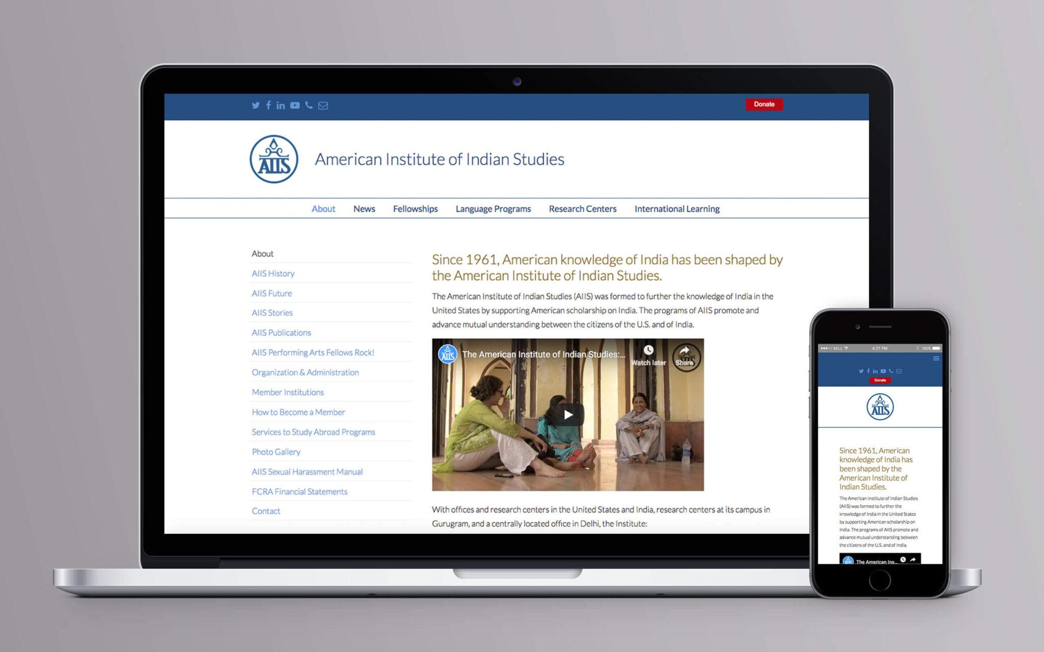 American Institute of Indian Studies American Institute of Indian Studies Website About