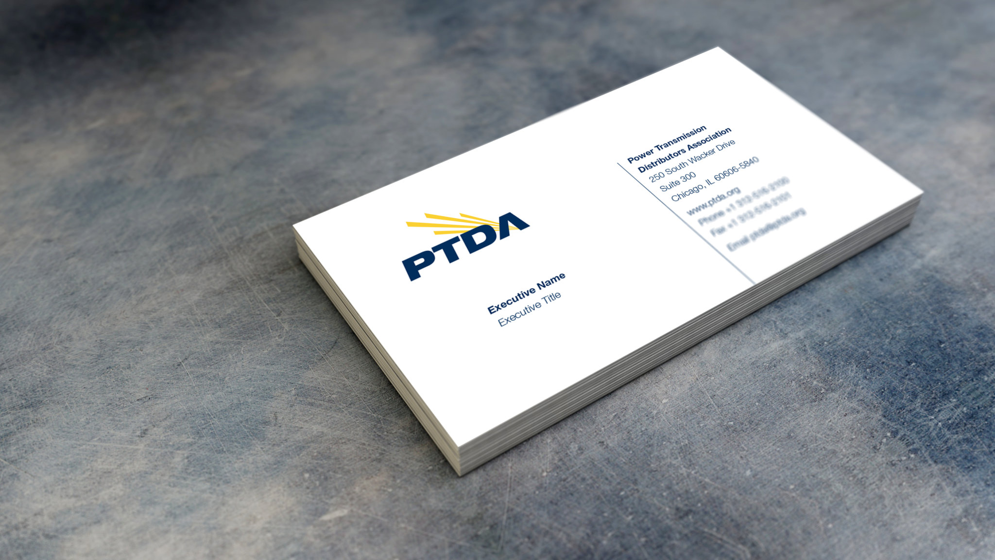 PTDA Business Card