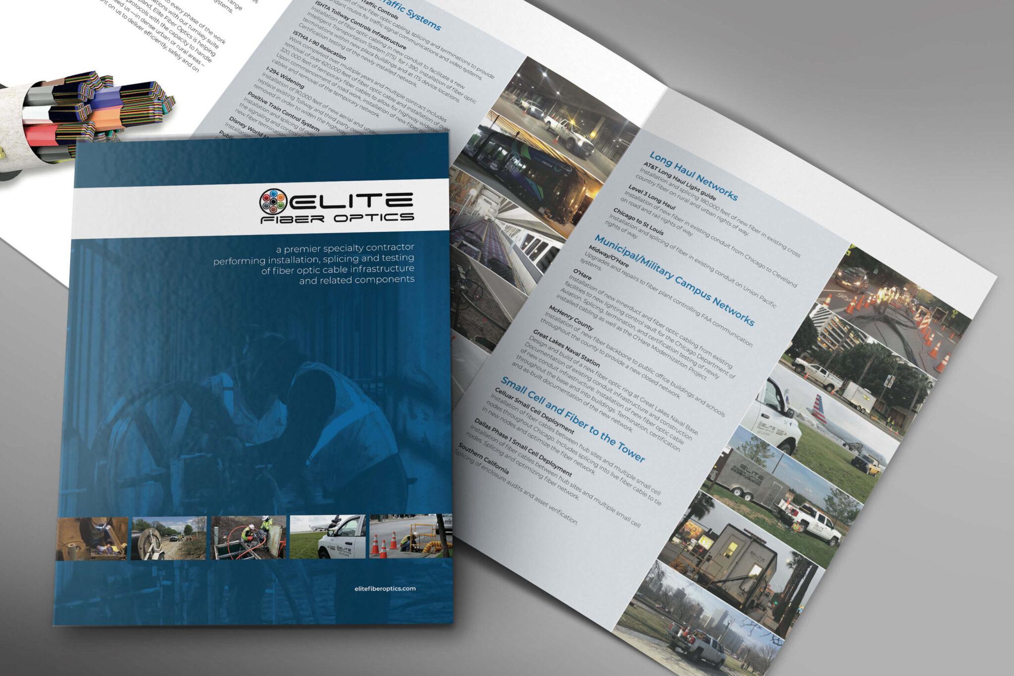 Elite Fiber Optics Icon Brochure